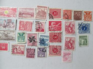 Verschiedene Briefmarken Ceskoslovensko