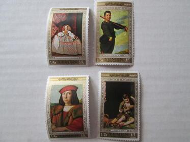 Yemen 4 Briefmarken