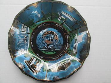 Glasschale Weltausstellung New York 1964/1965