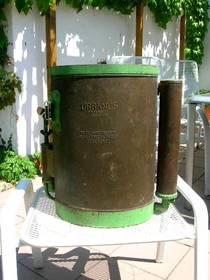 Weinbauerspritze aus den 50 er Jahren Kupfer
