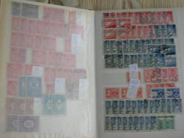 10 Doppelsteckbuchseiten Österreich Spezial, Porto Kaisserreich,