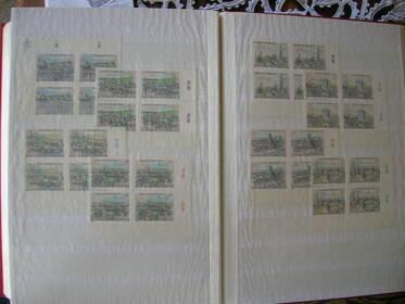 38 Steckbuchseiten, Frankreich, Canada, China, Schweiz, UNO, BRD