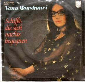 5 x Single von Nana Mouskouri