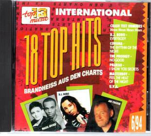 18 Top Hits 6/94 - Top 13 Music International