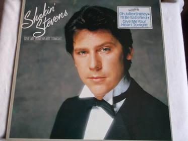 Give Me Your Heart Tonight - Shakin Stevens - LP