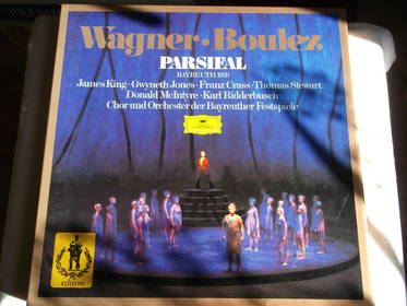Parsifal - Wagner + Boulez - 5 LPs