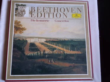 Beethoven Edition - Die Konzerte - Box mit 6 LP