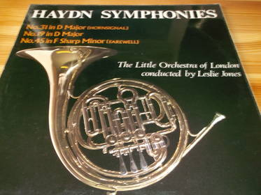 Haydn Symphonies - The Little Orchestra of London