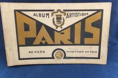 Paris Album Artisique 40 Vues