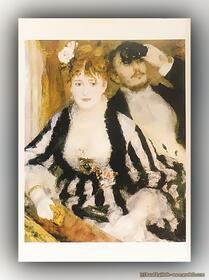 Pierre-Auguste Renoir - Die Loge