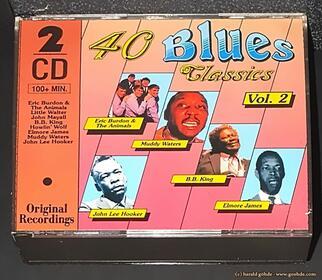 Various Artists - 40 Blues Classics Vol. 2 - CD