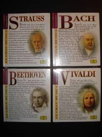 Beethoven - Strauss - Vivaldi - Bach, NEU, auch einzeln erhältl.