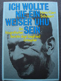 Ich wollte nie ein weiser Uhu sein, Hans-Gert Schubert, 1979