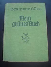 Mein grünes Buch, Hermann Löns, 1936, in Altdeutsch