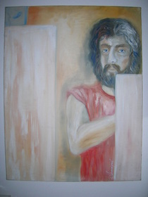Selbstportrait - Bachmayer 1991