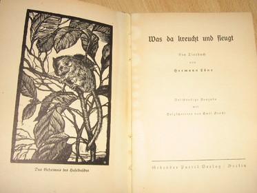 Hermann LÖNS, Was da kreucht und fleucht