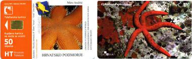 Telefonkarte - Kroatien - Unterwasserwelt der kroatischen Adria