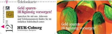 Telefonkarte - Deutschland - HUK-Coburg