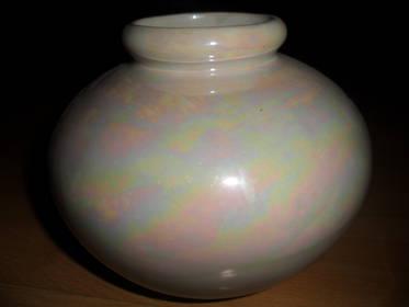 Vase weiss  perlmutt