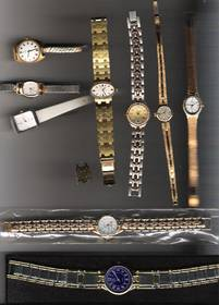 9 Damen Uhren Armbanduhr Dugena Junghans Geneves 1950 1960 alt
