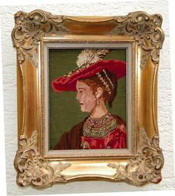 Saskia (nach Original v. Rembrandt)