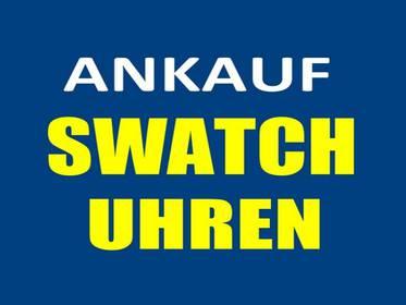 ANKAUF von Swatch Uhren und Swatch Sammlungen