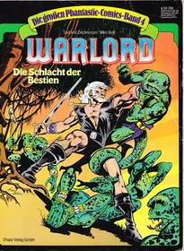 Die grossen Phantastic-Comics – Warlord – Band 4