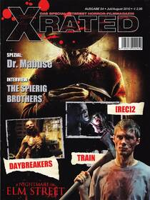 Special Interest Horrorfilm-Magazin X-Rated 54