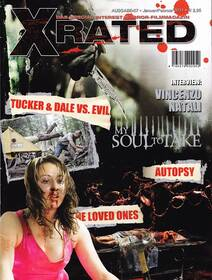 Special Interest Horrorfilm-Magazin X-Rated 57