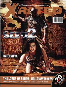 Special Interest Horrorfilm-Magazin X-Rated 70