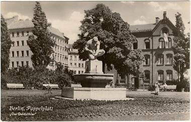 Berlin - Pappelplatz - Der Geldzähler