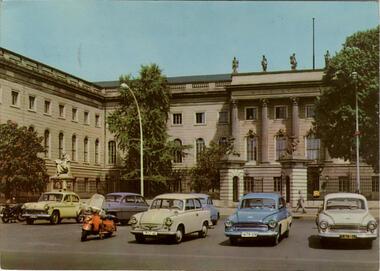 Berlin - Hauptstadt der DDR - Humboldt-Universität