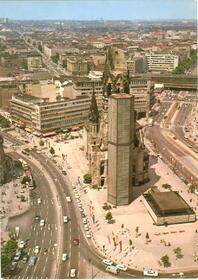 Berlin - Kaiser-Wilhelm-Gedächtniskirche