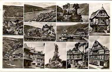 Assmannshausen a. Rhein (Mehrbildkarte)