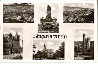 Bingen a. Rhein (Mehrbildkarte)
