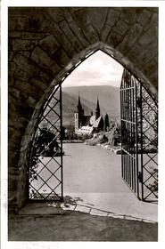 Bingen (Rhein) Blick von der Burg Klopp