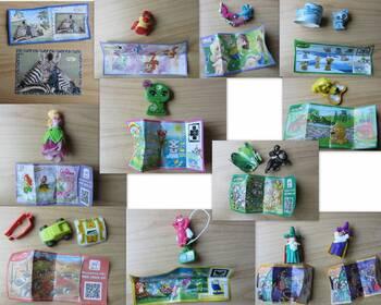 Überraschungsei-Paket, Ü-Ei, Figuren und Spielzeuge