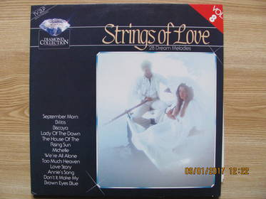 The Diamond Orchestra – Strings Of Love - 28 Dream Melodies
