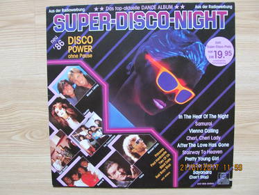 Super Disco Night (Disco Power Ohne Pause)