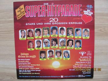 Die Super-Hitparade - Schlager, Die Man Nie Vergißt