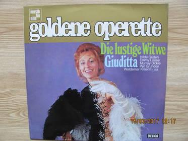 Die Lustige Witwe - Giuditta  (Querschnitt)