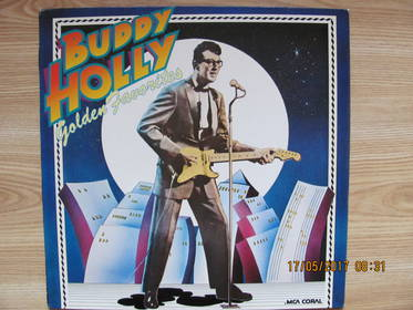 Buddy Holly ‎– Golden Favorites
