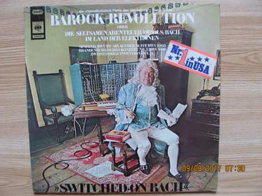 Switched-On Bach (Barock-Revolution Oder Die Seltsamen Abenteuer