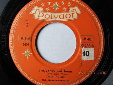 Hula-Hawaiian-Quartett – Jim, Jonny Und Jonas