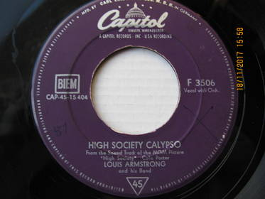 High Society Calypso / Now You Has Jazz