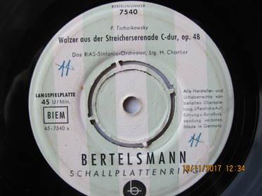Walzer Aus Der Streicherserenade C-dur, Op. 48 / Schwanensee
