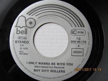 Bay City Rollers ‎– I Only Wanna Be With You