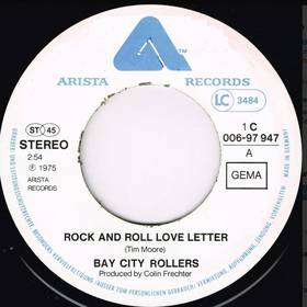 Bay City Rollers – Rock And Roll Love Letter