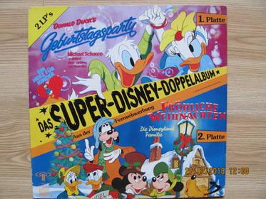 Die Disneyland-Familie – Das Super-Disney-Doppelalbum