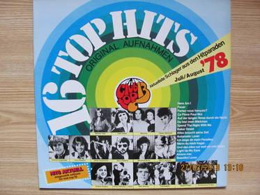 16 Top Hits - Schlager Aus Den Hitparaden Juli / August '78